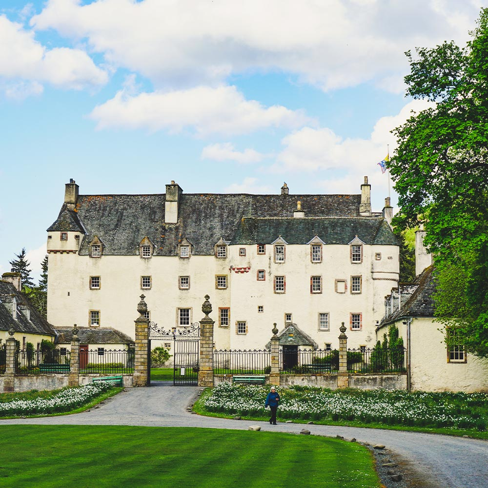 traquair house in the scottish borders
